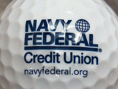 1  Navy Federal Credit Union Logo Golf Ball