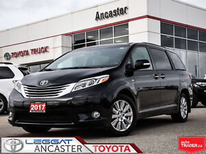 2017 Toyota Sienna Limited Package AWD