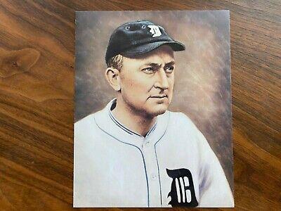 Vintage 8 x10 Picture Detroit Tigers Ty Cobb pictures & Mark McGuire LOT & TEAM