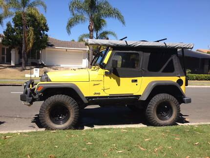 Jeep Wrangler Sport - set up for 4x4 - winch, spotties, UHF etc Burleigh Waters Gold Coast South Preview