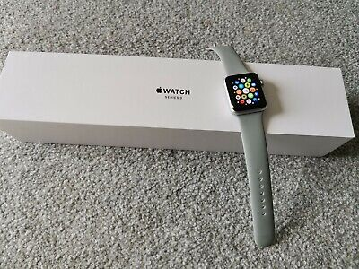 Apple Watch Series 3 Silver 38mm GPS Boxed Fully Working Smartwatch A1858