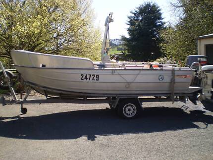 17ft SAVAGE CENTRE CONSOLE 85hp Flowerdale Waratah Area Preview