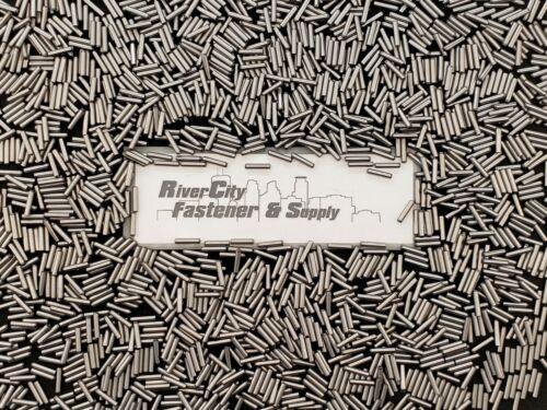 (50) M3x14 Metric Dowel Pins  3mmx14mm  /   3mm x 14mm Steel Dowel Pins