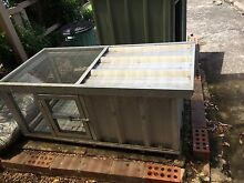 Metal rabbit hutch Berala Auburn Area Preview