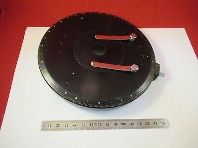 Carl Zeiss Germany Stage Table Rotable Pol Microscope Part As Pictured L1-a-09