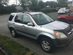 02 Honda CRV AWD Loaded
