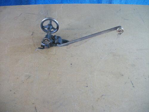 Vintage Industrial Sewing Machine Bobbin Winder Cast Iron