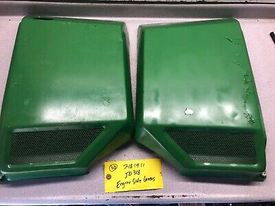 John Deere 316 318 Tractor Right And Left Engine Side Panel Covers ()