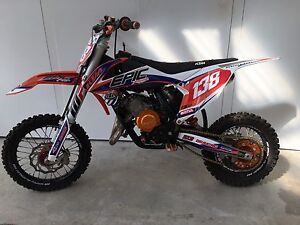 KTM 65 bling to the max (never raced) Maroota The Hills District Preview