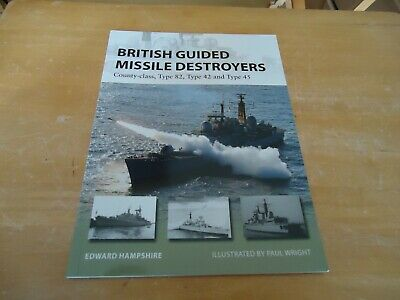 @@@ BRITISH GUIDED MISSILE DESTROYERS NEW VANGUARD OSPREY BRAND NEW @@@