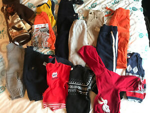 Lot of boy's clothing 12-18 months