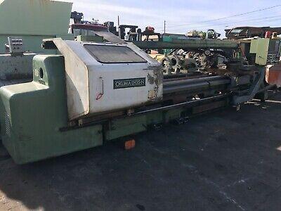 Okuma Lh35-n Cnc Lathe With Control Osp5000l-g