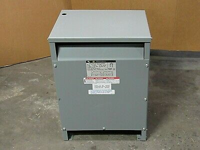 Square D Single Phase Transformer 15s5h 1ph 15kva Pri Hi 600v Sec Low 120240v