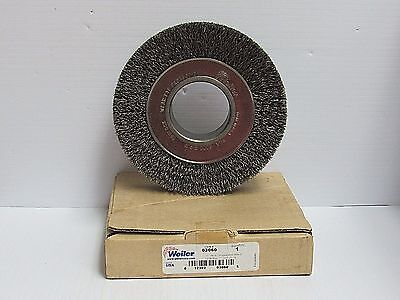 New Weiler Trulock Crimped Wire Wheel 03060 6w 2ah .0118 Wire 6000 Rpm Max