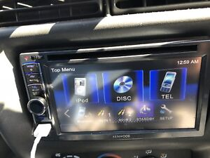 Kenwood double din CD/mp3 deck with 200watt sub
