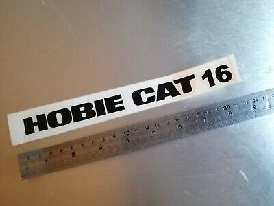Hobie 16 boat yacht sail catamaran sailing windsurf surfboard sticker 200mm