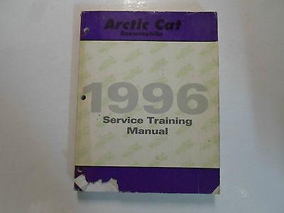 1996 Arctic Cat Snowmobile Service Training Manual FACTORY OEM BOOK 96 x