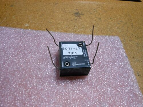 TRIO LABORATORIES REGULATOR DIODE # 80TF27 NSN: 5961-00-405-0720