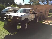 Toyota Hilux 4X4, Lifted on 35's, Low, Low, Low Ks Mangerton Wollongong Area Preview
