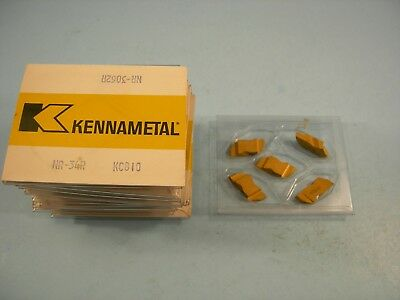Qty Of 5new Nr 34r Kc810 Kennametal Carbideradius Grooveturning Inserts Nr3062r