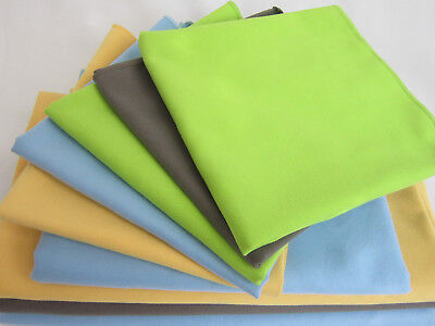 Microfiber Suede Sport Towel Compact Fast Drying Travel Gym Beach Yoga Light