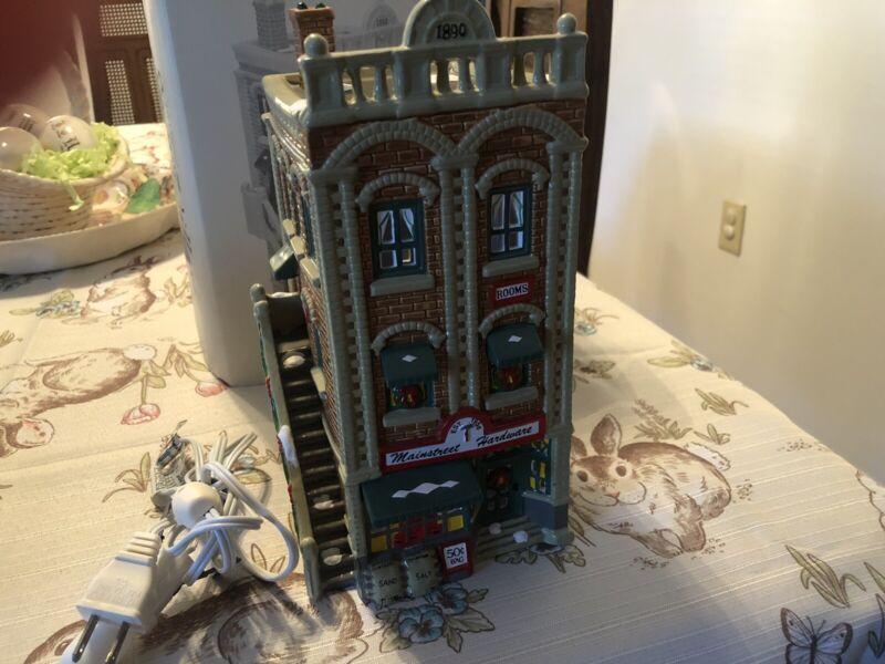 Dept 56 O Scale Lionel Mainstreet Hardware Building