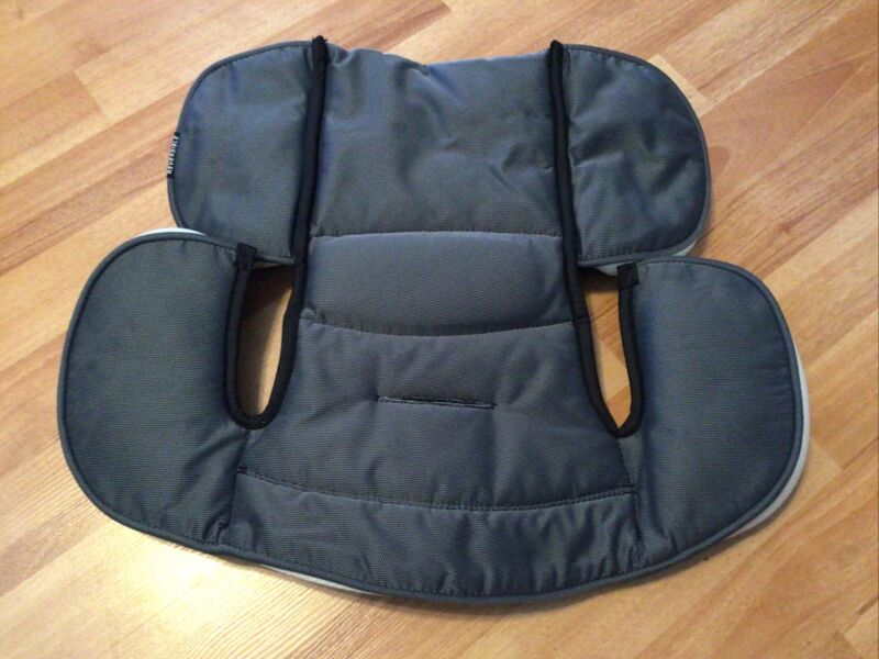Graco 4Ever Car Seat Infant Body Cushion Inserts Part Replacement Gray Black