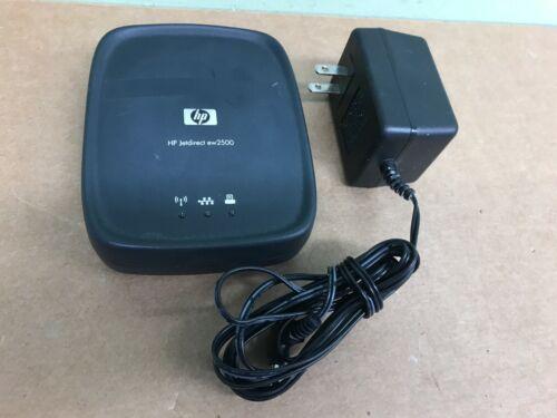 HP JetDirect Wireless Print Server ew2500 J8021 WITH POWER SUPPLY