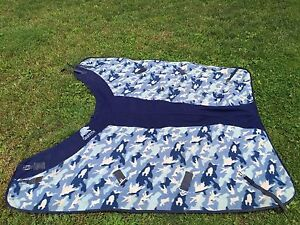 Horse Blanket - Fleece Cooler - Size 74
