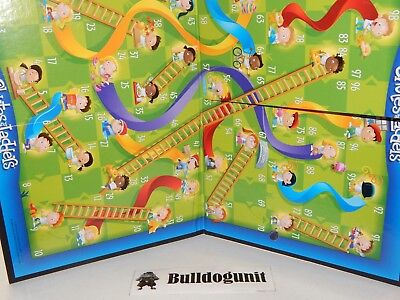 2013 Chutes & Ladders Board Game Replacement Game Board Only - Ladders Game