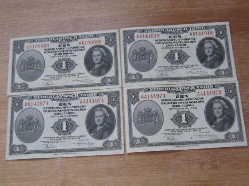 Lot of 4 World Paper Money #2652