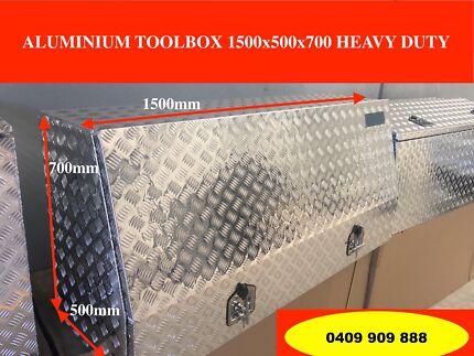 ALUMINUIM TOOLBOX 1500 x500x700