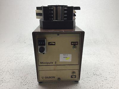 Rainin Gilson Rabbit Peristaltic Pump Minipuls 2 - Powers On - Parts Repairpoor