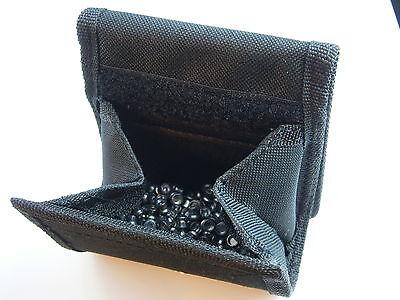 New Crosman BLACK AMMO POUCH PELLET BB DARTS HOLDER - Durable with Belt Loop