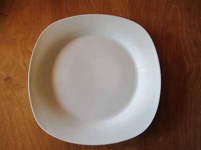 Home SOFT SQUARE White Dinner Plate 10 5/8