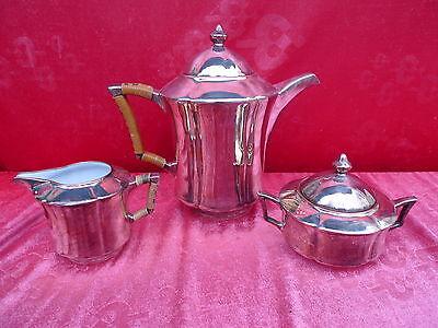 bella,moltissimo antico Pot caffè__ Zuccheriera u.Milchkanne__Rosenthal__