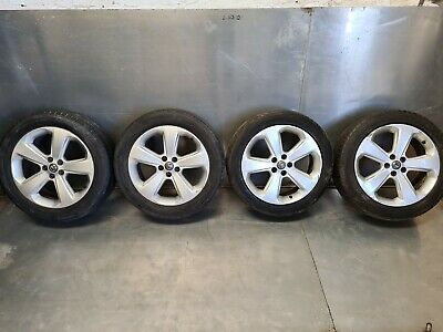 VAUXHALL MOKKA '' 18 INCH ALLOY WHEELS & TYRES FULL SET 215/55/R18