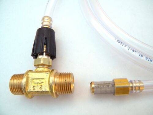 Pressure Washer Cleaning J23 Adjustable Downstream Injector