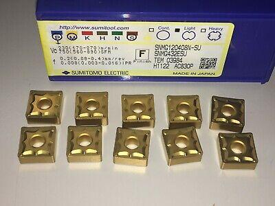 1 Lot - 10pcs Snmg432esu Ac830p Sumitomo Carbide Turning Insert