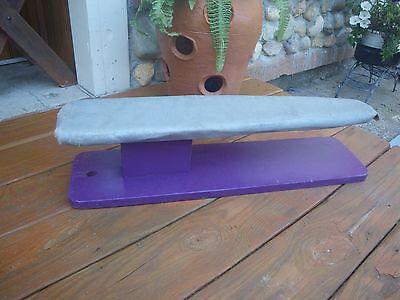 Collector Handmade Wood Tailor Dressmaker Sleeve Cuff Tabletop Ironing Board Press
