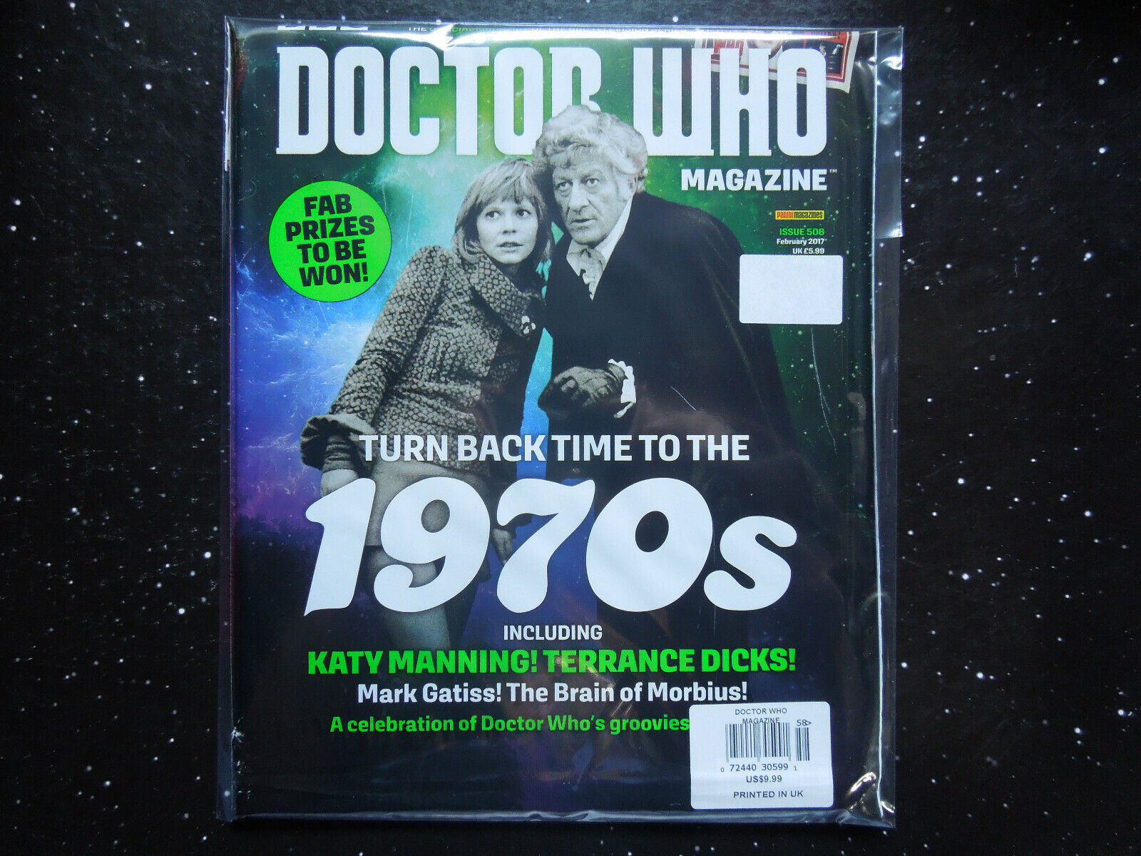 DOCTOR WHO MAGAZINE 508 - Turn Back Time To The 1970s - $4.99