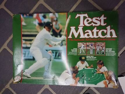 Test Match Board Game Rare Crown & Andrews