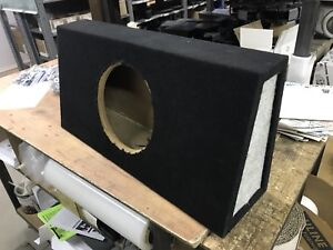 "Sub box for 10"" woofer"