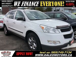 2010 Chevrolet Traverse 1LS| 3.6L V6 | AWD | 8 SEATER | BLUETOOT