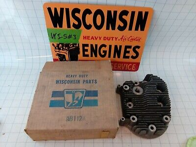 Wisconsin Engine New Old Stock Cylinder Head Ab112a Free Sh