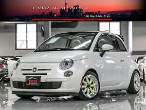 2012 Fiat 500 5SPD|CONVERTIBLE|2XRIMS|SPORT