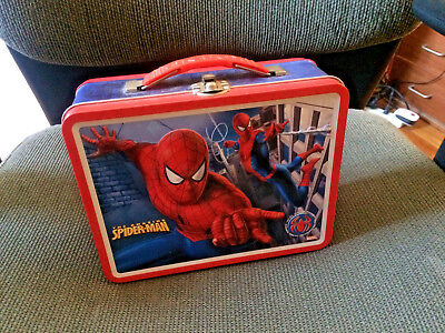 2007 Marvel's Spider-man 3D Tin Lunch Box