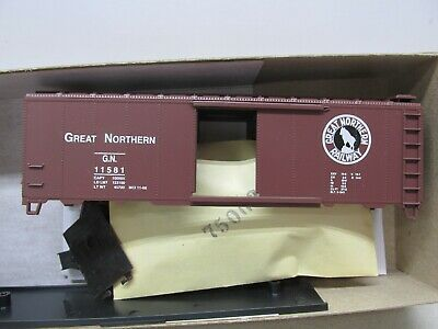 ATHEARN~ #5007~ GREAT NORTHERN~40' BOXCAR #11581~KIT~HO SCALE Great Northern Boxcar