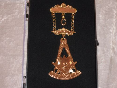 Masonic Past Master with Square Jewel Pin Fraternity Freemason Engravable NEW!