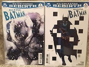 All Star Batman #6 Variant Covers (Rebirth)